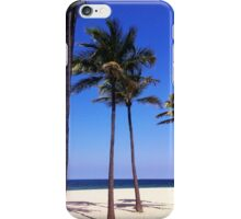 Palm Trees in the Sand iPhone Case/Skin
