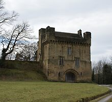 Morpeth Castle by laurawhitaker