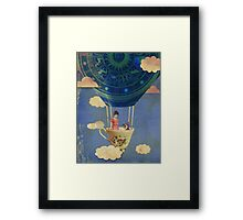 Bouncing Off Clouds Framed Print