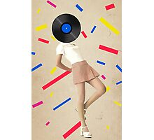 Color Chaos Collection -- The Party Never Ends Photographic Print