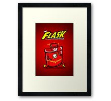The Flask Posters Framed Print
