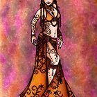 Capricorn Tribal Belly Dancer by lacychenault