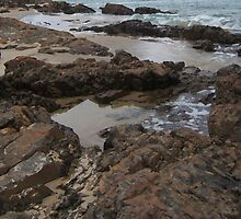 Bridport Rock Pools by Daron  Gumley