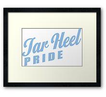 Tar Heel Pride! Framed Print