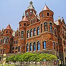 Old Red Courthouse - Dallas Texas USA by TonyCrehan