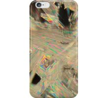 Painkillers: Crystals of acetylsalicylic acid under a microscope. iPhone Case/Skin
