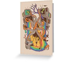 A Fragmented Reality Greeting Card