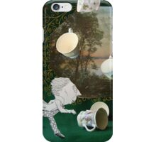 Mad Tea Party: The aftermath iPhone Case/Skin