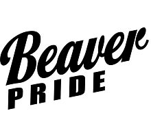 Beaver Pride! Photographic Print