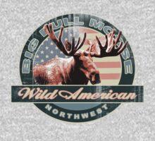 bull moose by redboy