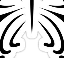 Butterfly (Tribal) Sticker