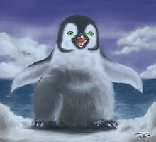 A little penguin by 2Herzen
