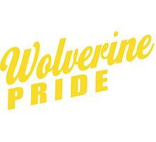 Wolverine Pride! Photographic Print