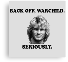 WARCHILD Canvas Print