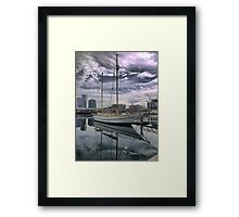 Reflections on the 'Alexander Stewart' Framed Print