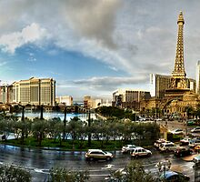 Bellagio, Caesars Palace, Bally's, Paris by Alexei