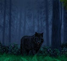 The Timber Wolf by larryr33