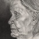 Portrait of Grandma by Ms.Serena Boedewig