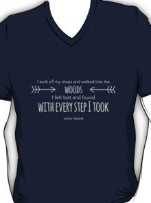 Bright Eyes Lime Tree Lyrics Fade T-Shirt