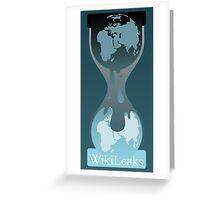 Wikileaks Greeting Card
