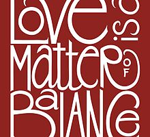 Love Balance by Mariana Musa