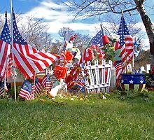 war memorial by Gale Distler