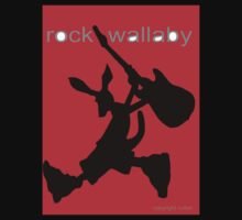 rock wallaby by wick