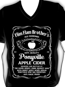 Flim Flam Brother's Old Fashioned Ponyville Apple Cider T-Shirt
