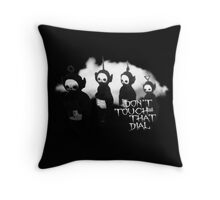 Don't Change That Dial Throw Pillow