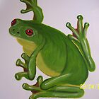 Green Tree Frog by Sooty6