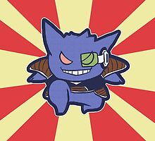 Captain Gengar of Ginyu Squad by zerojigoku