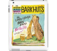 Latte-lifestyle Bark Huts iPad Case/Skin