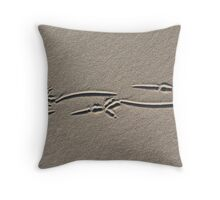 perfect track Throw Pillow
