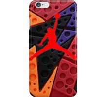 Air Jordan raptor retro iPhone Case/Skin