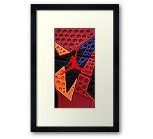 Air Jordan raptor retro Framed Print