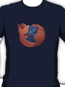 Vulpix, the original firefox T-Shirt