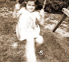 Girl on Swing by Amy E. McCormick
