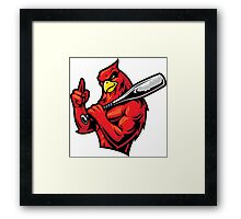 Rowdy Rooster Framed Print