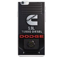 Cummins Diesel Engine 5.9L iPhone Case/Skin