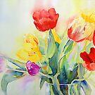 Tulip Rainbow #2 by Ruth S Harris