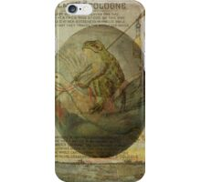 Goose and Frog's Easter Journey iPhone Case/Skin