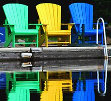 Muskoka Chairs by Nancy Barrett