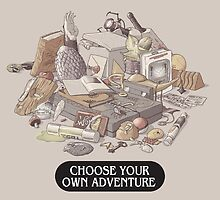 Choose your own Adventure by fightstacy