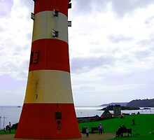 Plymouth Hoe Lighthouse by Gatti