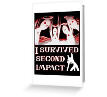 Second Impact Survivor Greeting Card