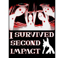 Second Impact Survivor Photographic Print
