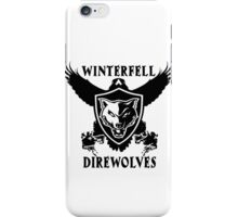Winterfell Direwolves iPhone Case/Skin