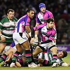 Harlequins Vs Leicester Tigers by Mark Greenwood