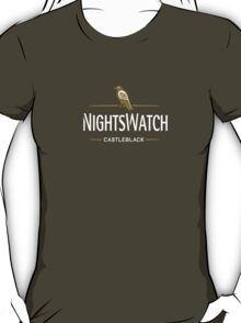 Game of Thrones - Night's Watch - Castle Black T-Shirt