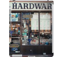 Barney's Hardware - New York City Store Sign Kodachrome Postcards  iPad Case/Skin